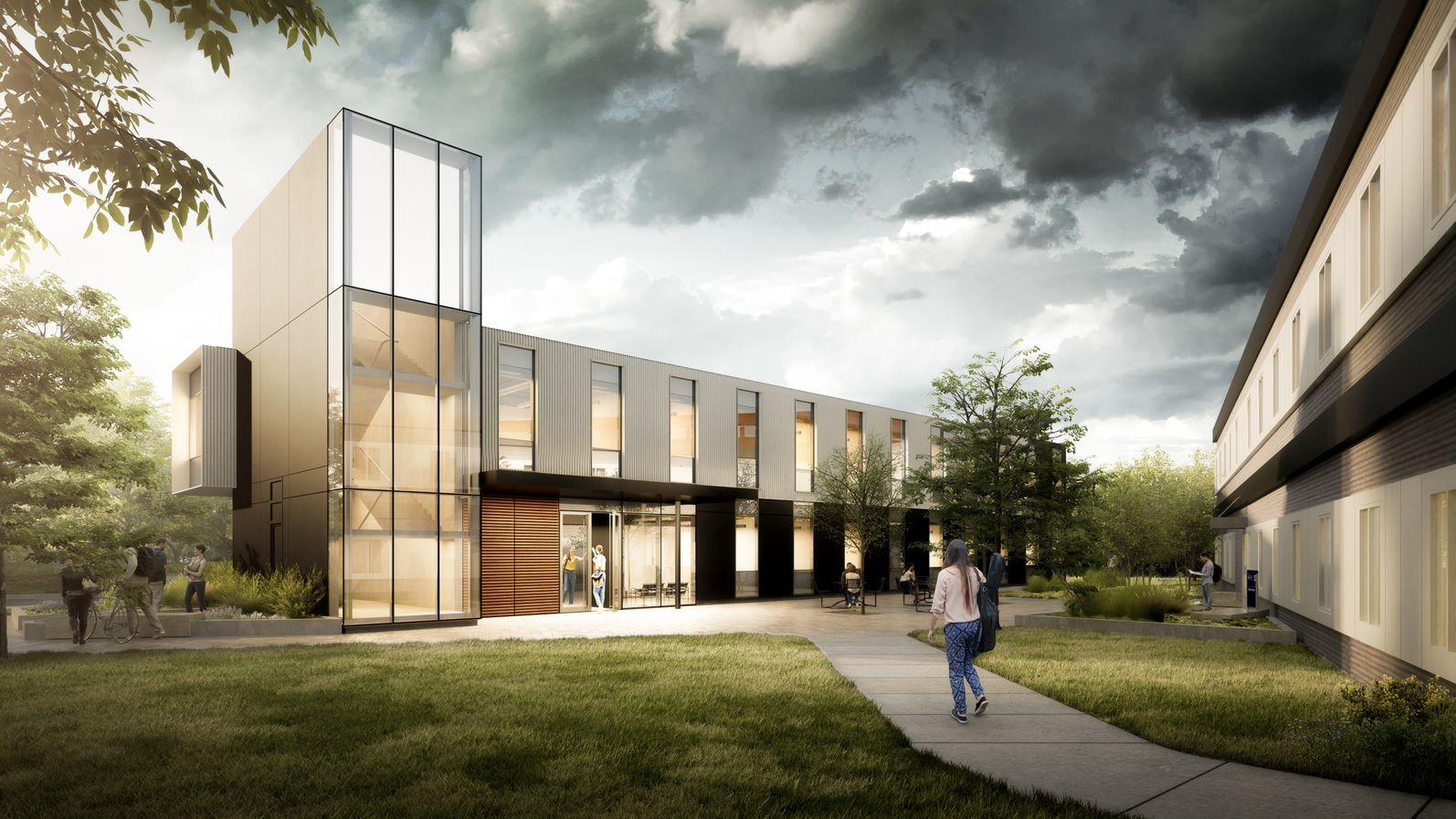University of Toronto Modular Building Design, Mississauga, Ontario